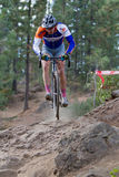 Adam Craig - ciclista profissional Foto de Stock Royalty Free