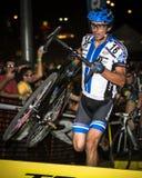 Adam Craig - Quer-Vegas Cyclocross Stockfotografie