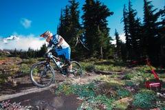 Adam Craig und Mt.-Haube Lizenzfreie Stockfotografie