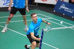 Adam Cwalina - Badminton Lizenzfreies Stockbild
