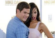 Adam DeVine and Chloe Bridges Royalty Free Stock Image
