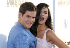 Adam DeVine and Chloe Bridges Royalty Free Stock Images