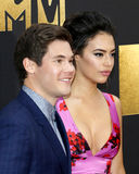 Adam DeVine and Chloe Bridges Stock Photography