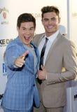 Adam DeVine i Zac Efron Fotografia Royalty Free