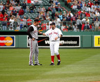 Adam Dunn and Kevin Millar Stock Images