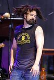 Adam Duritz with Counting Crows royalty free stock images