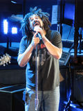 Adam Duritz of Counting Crows - Live Performance Stock Images
