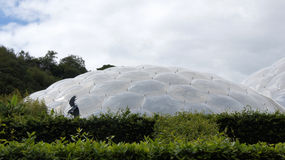 Adam in Eden Project in St Austell Cornwall Stock Fotografie