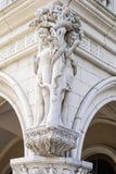 Adam en Vooravondsulpture Stock Foto's