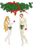 Adam and Eve Stock Photo