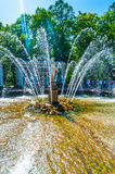 Adam and Eve Fountain Royalty Free Stock Photos
