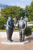 Adam and Eve sculpture in Monte Carlo, Monaco Royalty Free Stock Photography