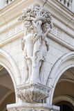 Adam and Eve sulpture Royalty Free Stock Photos