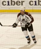Adam Foote of The Colorado Avalanche Stock Images