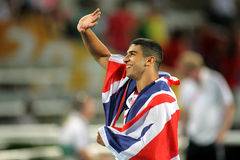 Adam Gemili av Great Britain Royaltyfri Foto