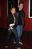 Adam Goldstein, Nicole Richie Lizenzfreies Stockbild