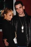 Adam Goldstein, Nicole Richie Lizenzfreie Stockfotos