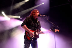 Adam Granduciel, Mann an der Spitze des Krieges auf Drogen (indie Rockband), führt bei Vida Festival durch Lizenzfreie Stockfotografie