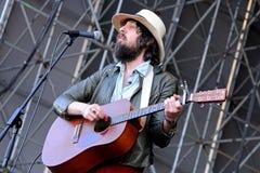 Adam Green and Binki Shapiro (band), performs at Heineken Primavera Sound 2013 Stock Photo