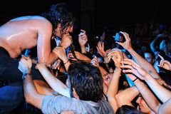 Adam Green führt an Diskothek Razzmatazz durch Lizenzfreie Stockbilder