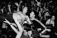 Adam Green führt an Diskothek Razzmatazz durch Stockbilder