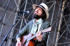Adam Green und Binki Shapiro (Band), führt an Ton-Festival 2013 Heinekens Primavera durch Stockfoto