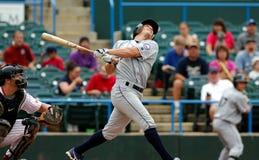 Adam Greenberg springt heraus - Baseball heraus Lizenzfreies Stockfoto
