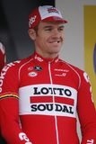 Adam Hansen Team Lotto Souda Immagine Stock