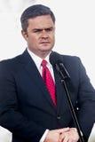 Adam Hofman, Sprecher polnischen Opposition Gesetzes und Gerechtigkeit Stockbild