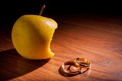 Adam jabłko Zdjęcia Royalty Free