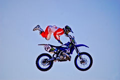 Adam Jones FMX Images libres de droits