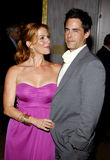 Adam Kaufman and Poppy Montgomery Royalty Free Stock Images