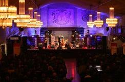 Adam Kawonczyk Quartet, der Live-Musik im Krakau Jazz All Souls Day Festival spielt Stockbilder