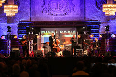 Adam Kawonczyk Quartet playing live music at The Cracow Jazz All Souls Day Festival Stock Photo