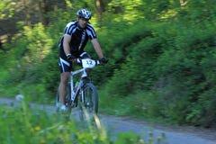 Adam Koten - corsa della bici di montagna Fotografia Stock Libera da Diritti