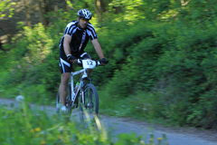 Adam Koten - mountain bike race Royalty Free Stock Photo