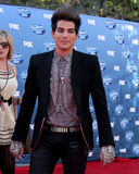 Adam Lambert. LOS ANGELES - MAY 25: Adam Lambert arriving at the 2011 American Idol Finale at MGM Grand Garden Arena on May 25, 2010 in Los Angeles, CA royalty free stock photo