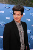 Adam Lambert. LOS ANGELES - MAY 25: Adam Lambert arriving at the 2011 American Idol Finale at MGM Grand Garden Arena on May 25, 2010 in Los Angeles, CA stock image