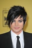 Adam Lambert. At the 15th Annual Critics' Choice Movie Awards, presented by the Broadcast Film Critics Association, at the Hollywood Palladium. January 15, 2010 royalty free stock photo