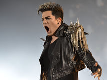 Adam Lambert Royalty Free Stock Photography