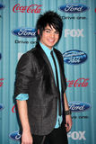 Adam Lambert. Arriving at the American idol Top 13 Party at AREA in Los Angeles, CA on March 5, 2009 royalty free stock image