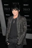 Adam Lambert. Arriving at the '2012' Premiere Regal 14 Theaters at LA Live West Hollywood,  CA November 3, 2009 stock photos