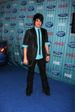 Adam Lambert. Arriving at the American idol Top 13 Party at AREA in Los Angeles, CA on March 5, 2009 royalty free stock photography