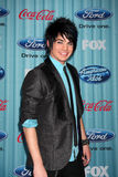 Adam Lambert. Arriving at the American idol Top 13 Party at AREA in Los Angeles, CA on March 5, 2009 stock photography