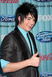 Adam Lambert. Arriving at the American idol Top 13 Party at AREA in Los Angeles, CA on March 5, 2009 stock image