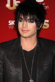 Adam Lambert. Arriving at the 2009 US Weekly Hot Hollywood Party Voyeur West Hiollywood, CA November 18, 2009 royalty free stock photography