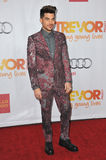 Adam Lambert. LOS ANGELES, CA - DECEMBER 8, 2013: Adam Lambert at the 15th Anniversary TrevorLIVE gala to benefit the Trevor Project at the Hollywood Palladium stock photo