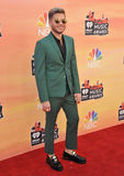 Adam Lambert. LOS ANGELES, CA - MAY 1, 2014: Adam Lambert at the 2014 iHeartRadio Music Awards at the Shrine Auditorium, Los Angeles royalty free stock photography