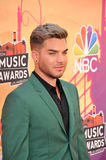 Adam Lambert. LOS ANGELES, CA - MAY 1, 2014: Adam Lambert at the 2014 iHeartRadio Music Awards at the Shrine Auditorium, Los Angeles stock photos
