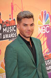 Adam Lambert. LOS ANGELES, CA - MAY 1, 2014: Adam Lambert at the 2014 iHeartRadio Music Awards at the Shrine Auditorium, Los Angeles royalty free stock photos